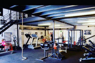 Old school gym floor